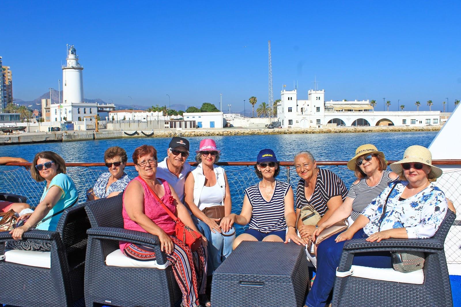 Sep puerto de la torre paseo en barco por la bah a de m laga - Kaiser puerto de la torre ...