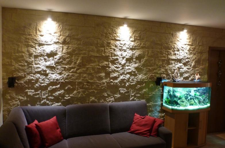 Revestimiento para paredes castillo ocre revestimiento para paredes valdecora - Paneles decorativos poliuretano ...