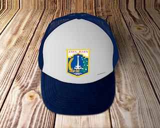 desain topi lambang logo provinsi jakarta - kanalmu