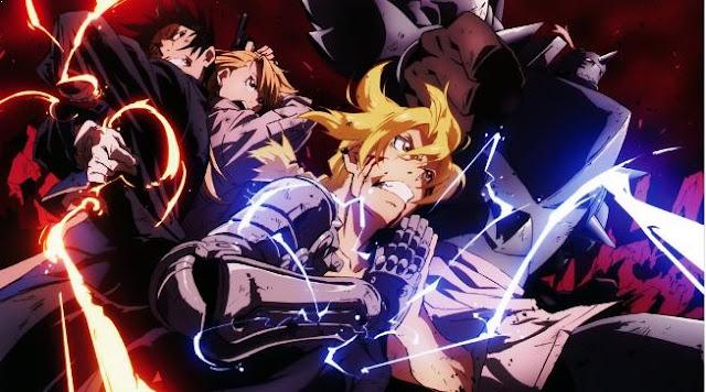 Daftar Film Anime Mirip Fairy Tail - Fullmetal Alchemist: Brotherhood