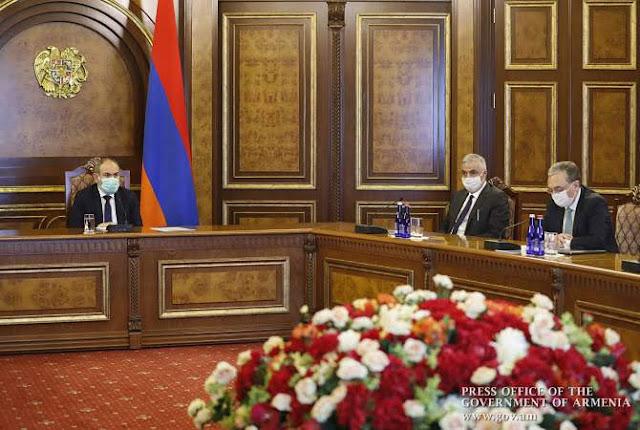 Pashinyan informa actividades diplomáticas durante 2019