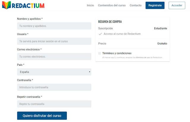 registro curso redactor de contenidos redactium_com