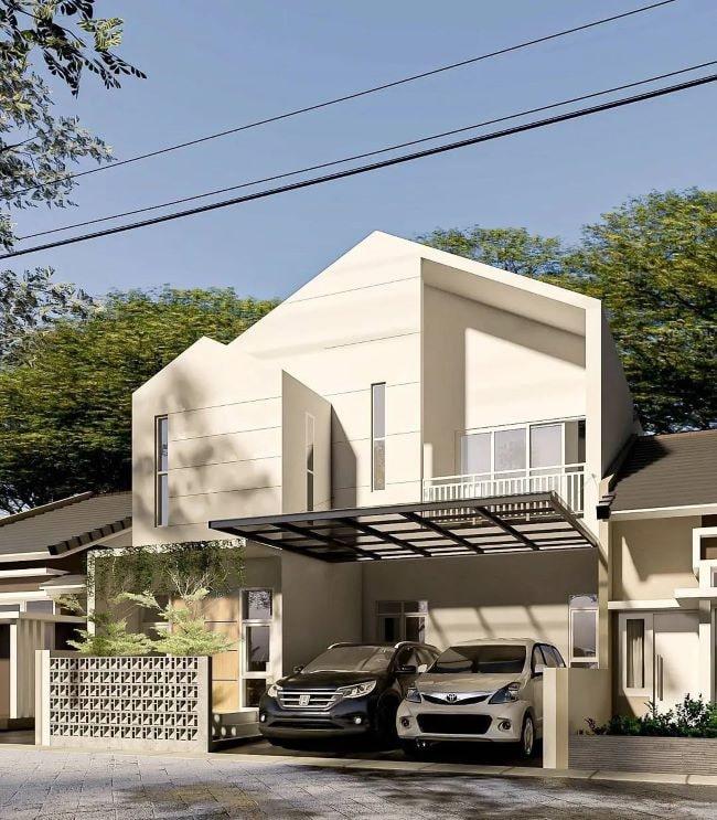 desain rumah ukuran 10x20