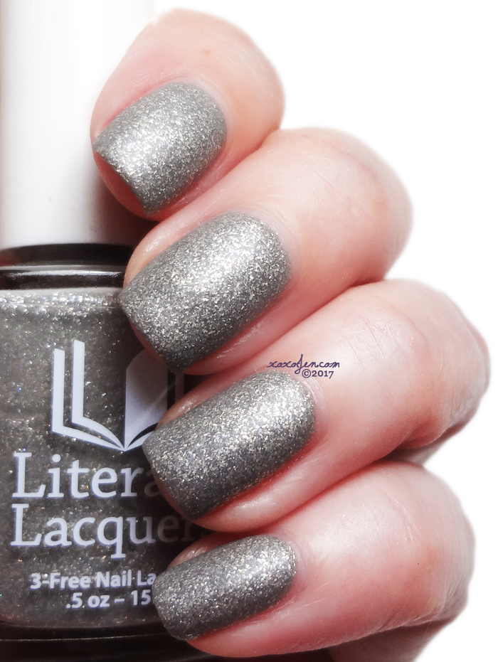 xoxoJen's swatch of Literary Lacquers Swaying Grayly