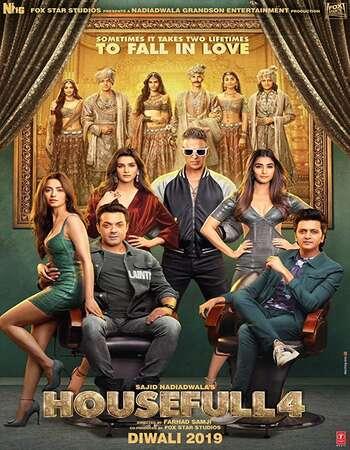 Housefull 4 2019 Hindi 700MB HDRip 720p ESubs HEVC