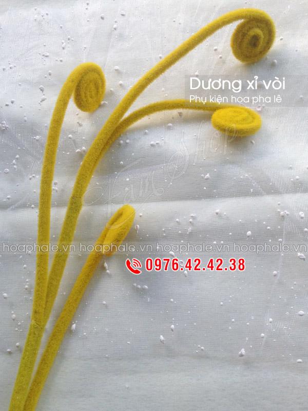 Dương xỉ vòi | Phụ kiện cắm hoa pha lê