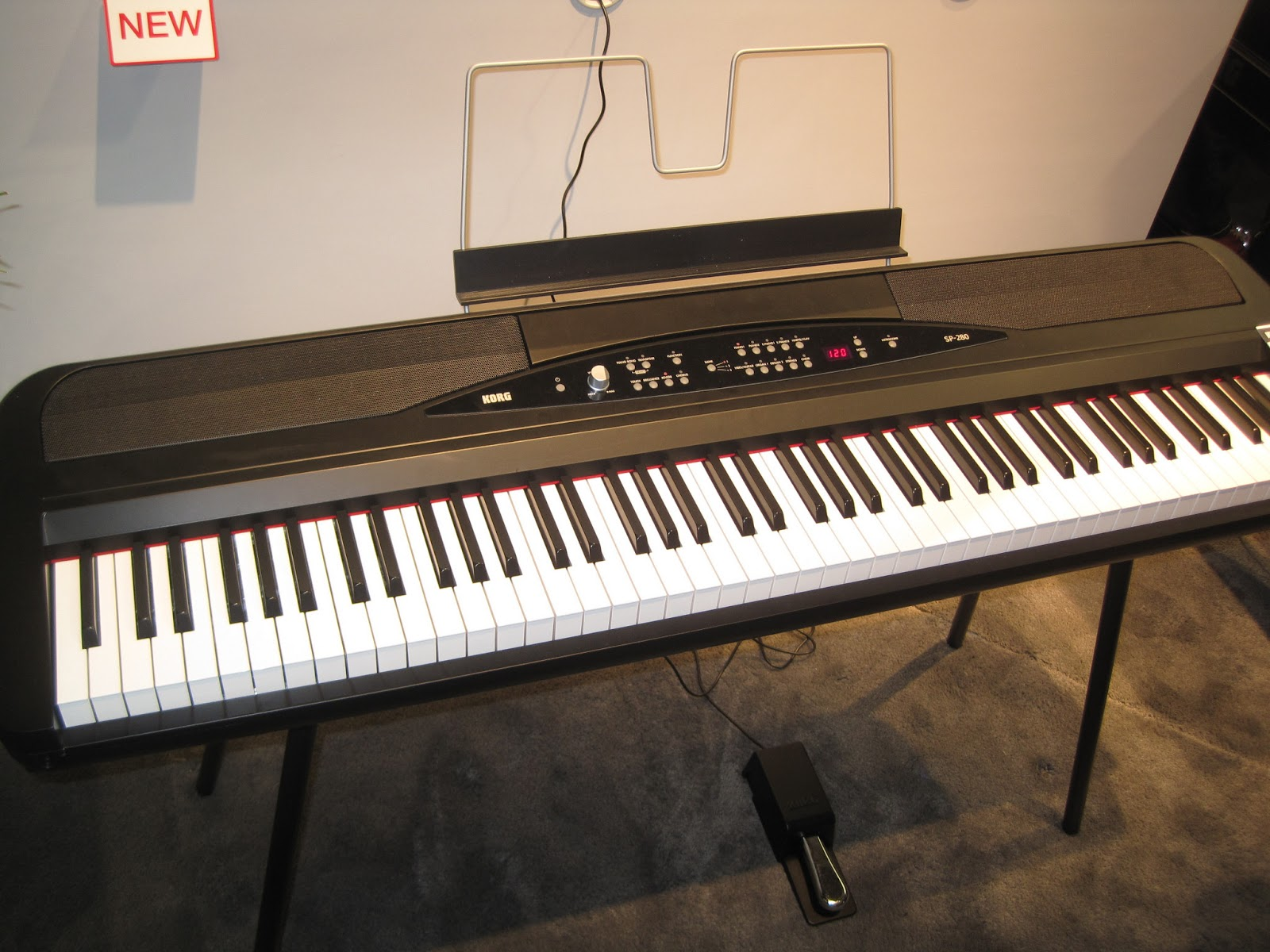 az piano reviews review korg lp380 korg sp280 digital pianos 2019. Black Bedroom Furniture Sets. Home Design Ideas