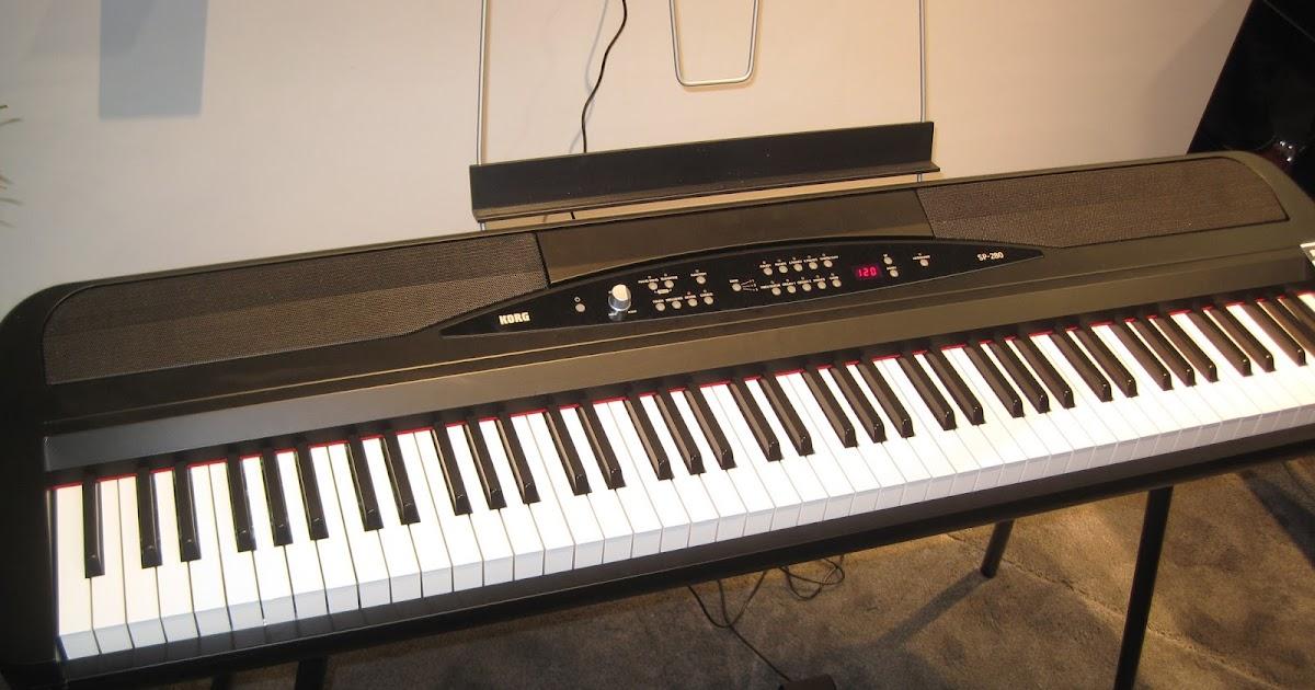 azpianonews reviews review korg sp280 korg lp380 digital pianos digital piano reviews. Black Bedroom Furniture Sets. Home Design Ideas