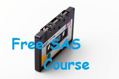 free sas course