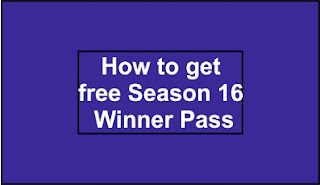 how to get free season 16 winner pass in pubg lite, Pubg lite winner pass