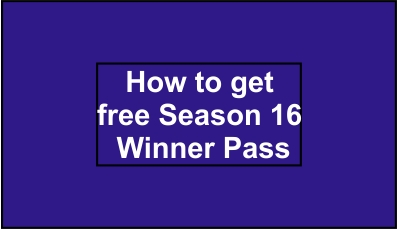 PUBG Mobile Lite : How to get free Season 16 Winner Pass