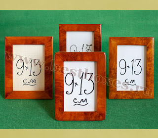 Рамочки для фотографий 9х13 массив кап, общая фото 2