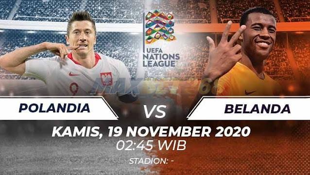 Prediksi Polandia Vs Belanda, Kamis 19 November 2020 Pukul 02.45 WIB @ Mola TV