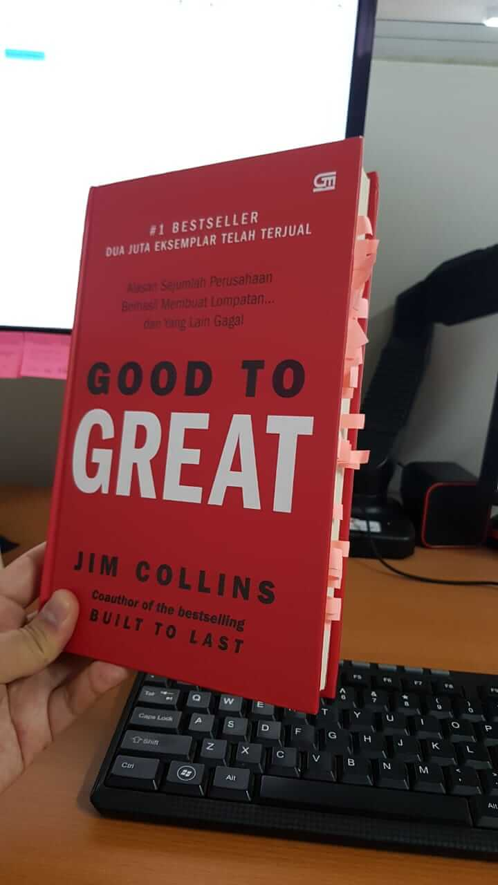buku Good to Great - Jim Collins