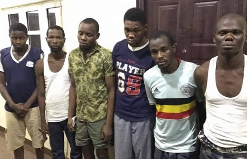 22yrs Old Led Robbery Gang Arrested
