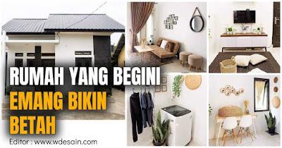 Desain interior rumah type 36