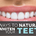 6 Foods That Can Whiten Your Teeth Naturally!