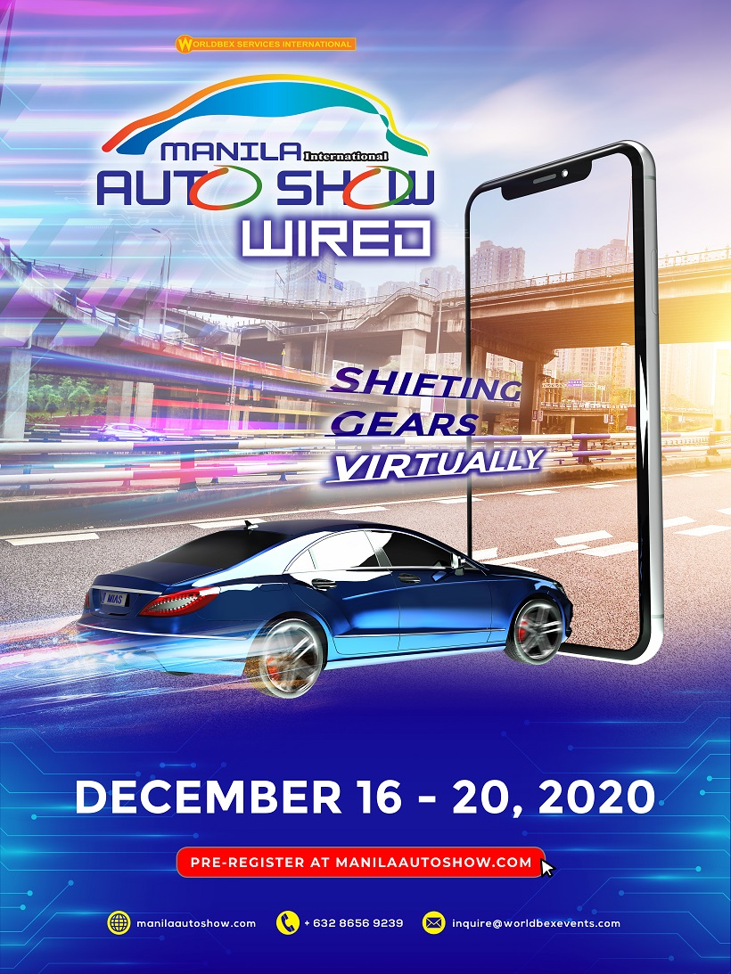 Manila International Auto Show to hold first virtual launch of MIAS Wired this December 2020