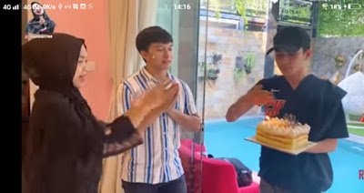 video persiapan surprise ulang tahun derry sahabar ricis