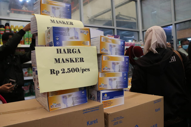 Pemprov DKI Jakarta Siapkan Satu Juta Masker dengan Harga Terjangkau di Pasar Jaya