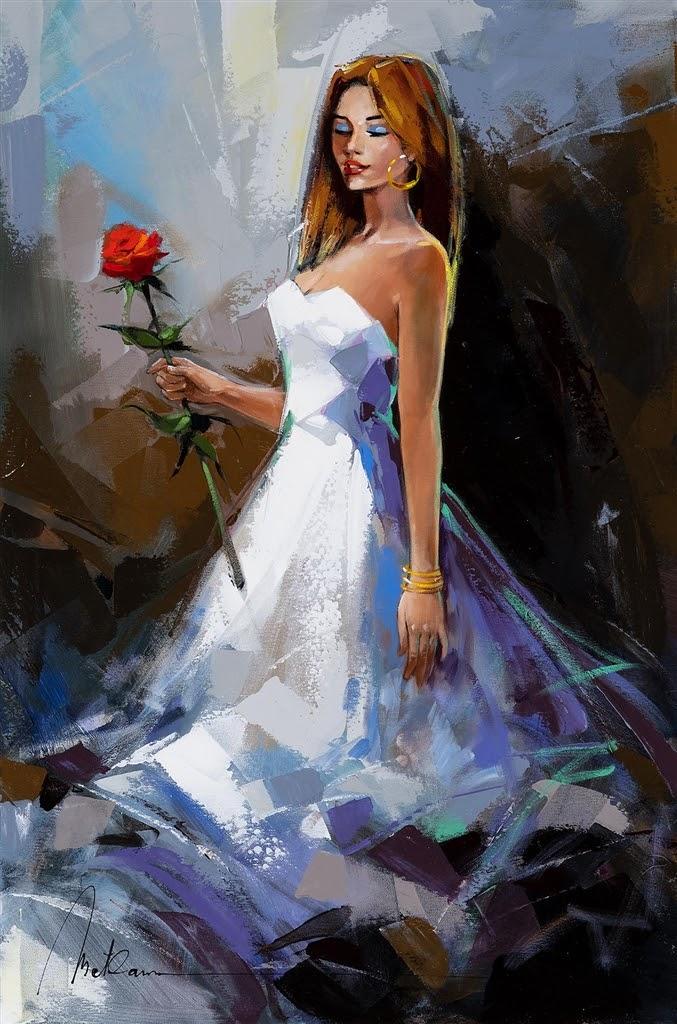 Anatoly Metlan As delicate as a rose
