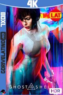 Ghost in the Shell (2017) BDXL 4K HDR Latino-Ingles ISO