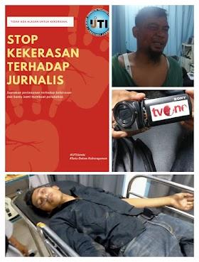 Dua wartawan Alami Kekerasan saat bertugas, IJTI Jambi Lapor Kedewan Pers