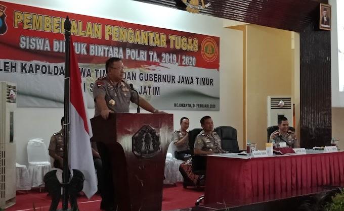 Kapolda Jawa Timur Bersama Gubernur Jawa Timur Adakan Kunjungan Ke SPN Polda Jatim Mojokerto
