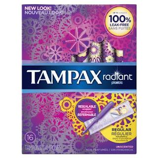 Tampax Radiant Plastic Unscent...