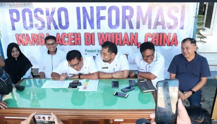 Gerak Cepat, Ini Tindakan Membanggakan Pemprov Aceh untuk Warga di Wuhan
