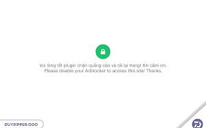 Chia sẻ code popup thông báo khi người dùng sử dụng Adblocker