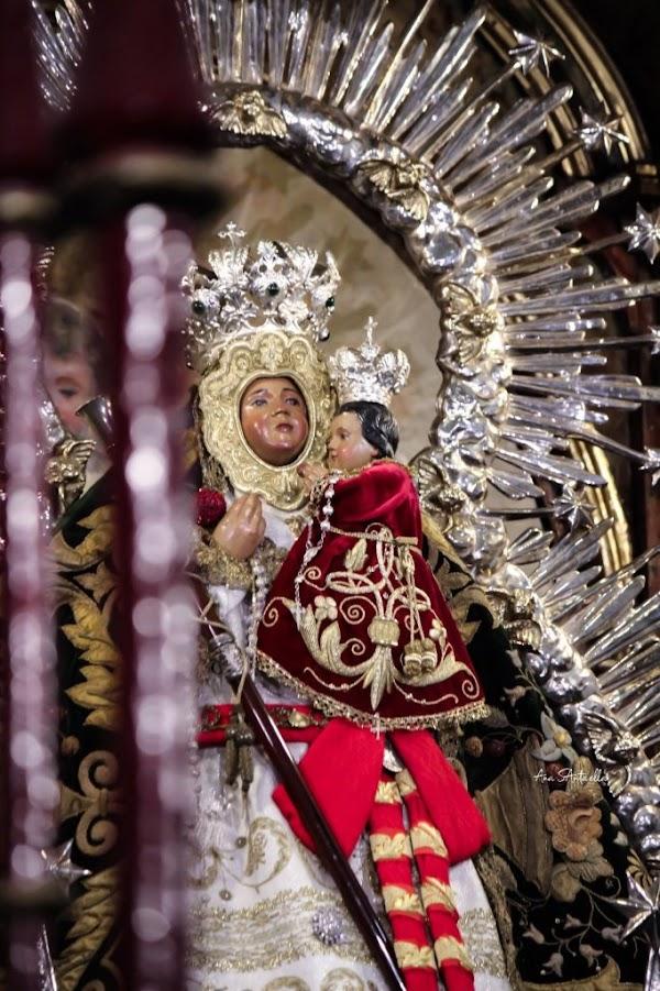 Salida Procesional Virgen de la Cabeza de Sevilla (02/10/2021): Horarios e Itinerarios