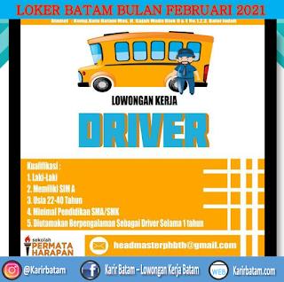 Lowongan Kerja Sebagai Driver (Memiliki SIM A)