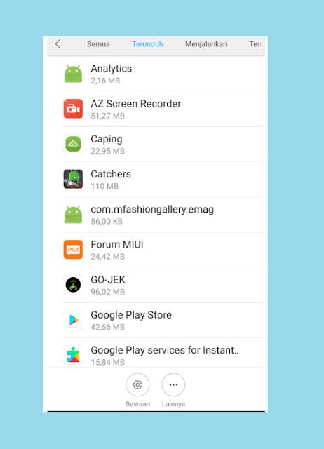 Amati Aplikasi Yang Menjadi Sebab HP Xiaomi Lemot