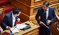 Από 5,2 έως 9% η διαφορά ΝΔ - ΣΥΡΙΖΑ σε δύο νέες δημοσκοπήσεις