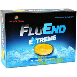 FluEnd extreme comprimate -te scapa de durerea de gat cumpara aici