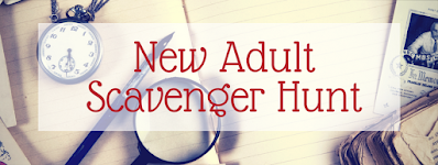 #NewAsh New Adult Scavenger Hunt for books