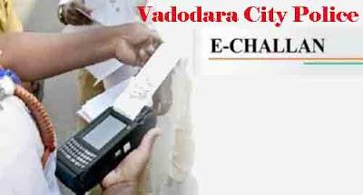 E Challan Vadodara City Police