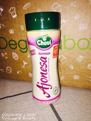 Chovi Ajonesa Degustabox Enero 2016