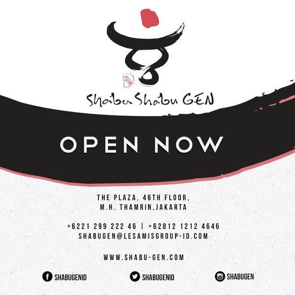 Sajian Best Shabu Shabu in Jakarta di Resto Shabu Gen