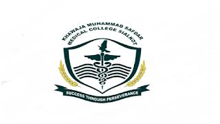 Khawaja Muhammad Safdar Medical College Jobs 2021 in Pakistan