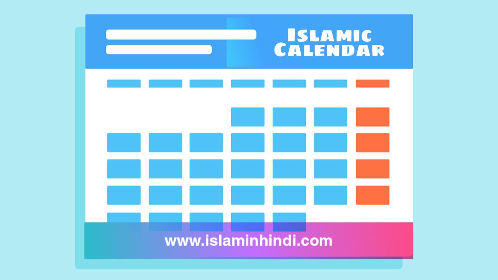 इस्लामी महीनों के नाम और नामकरण के कारण