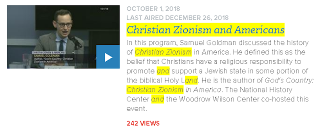 https://www.c-span.org/video/?452254-1/christian-zionism-americans