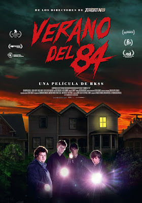 VERANO DEL 84  - Poster de la película en España