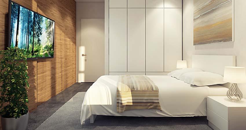Căn hộ 2 phòng ngủ chung cư 423 Minh Khai