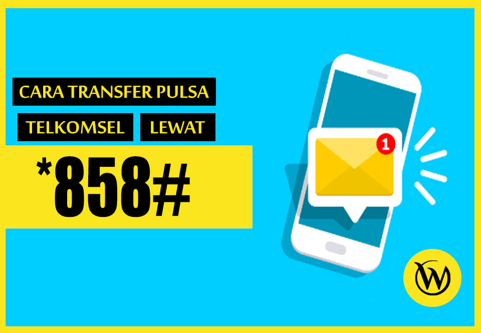 Cara Transfer Pulsa Telkomsel Lewat/Via SMS
