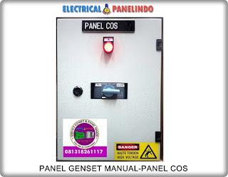 HARGA PANEL GENSET MANUAL-PANEL COS