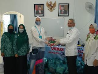 Terima Bantuan Dari Dinkes Batu Bara, Ny. Indriasari Zahir : Akan Kami Sampaikan Kedesa Binaan