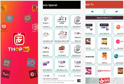 Free Download ThopTV v26 Watch Altbalaji, Zee5, Hotstar, Movies & 1000+ Channels
