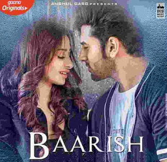 बारिश (Baarish) mahira sharma, parash chhabra, sonu kakkar lyrics in hindi
